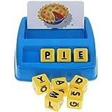 P Prettyia マッチングゲーム 就学前 英語パズル 英語 外国語 知育玩具 教育玩具
