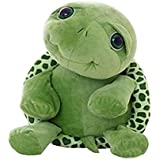 Baby Novelty Toy Cute Big Eyes Tortoise Turtle Toy Soft Stuffed Animal Toy for Christmas Birthday Gift (Green)