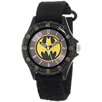 "Batman Boys' BAT5038 Black""Time Teacher"" Batman Watch"