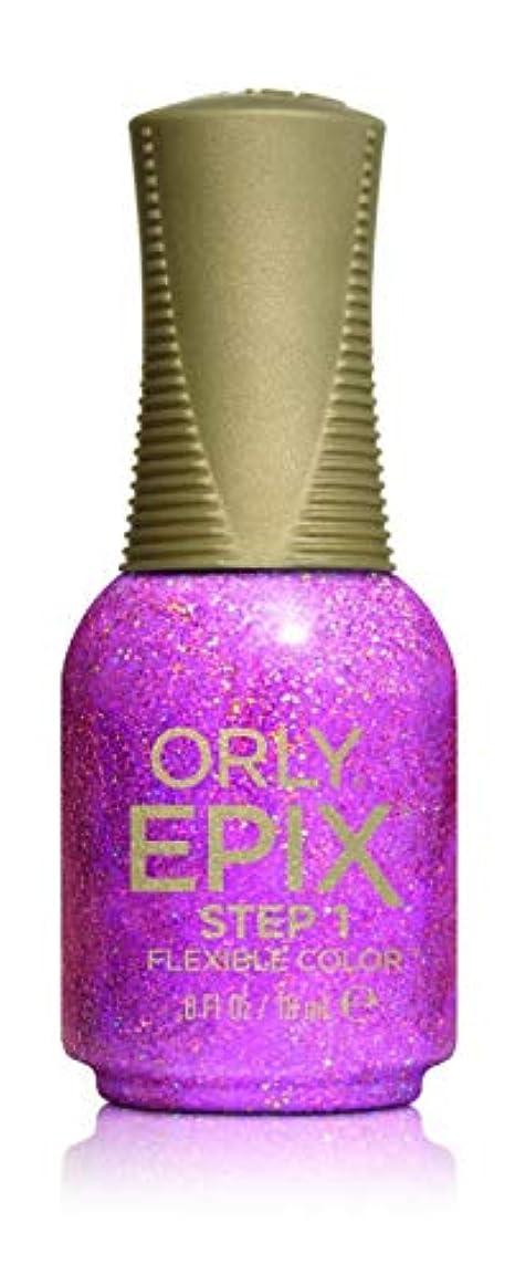起きて言い直す上院議員Orly Epix Flexible Color Lacquer - Feel the Funk - 0.6oz/18ml