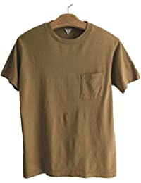 FilMelange(フィルメランジェ) ポケットTシャツ SUNNYサニー  メンズTシャツ  -COYOTE BROWN-