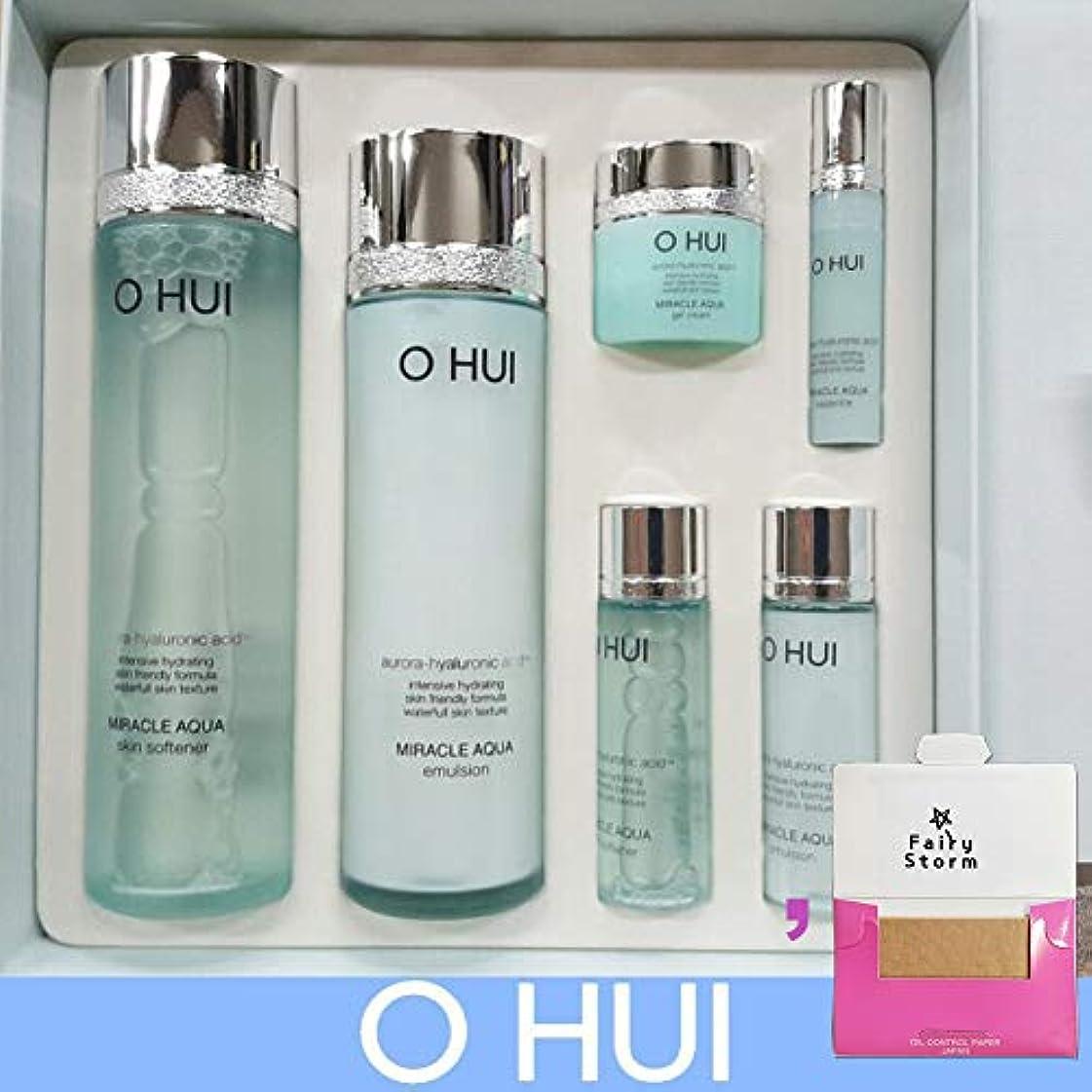 反逆正統派再発する[オフィ/O HUI]韓国化粧品LG生活健康/O HUI MIRACLE AQUA SPECIAL SET/ミラクルアクア2種セット+[Sample Gift](海外直送品)