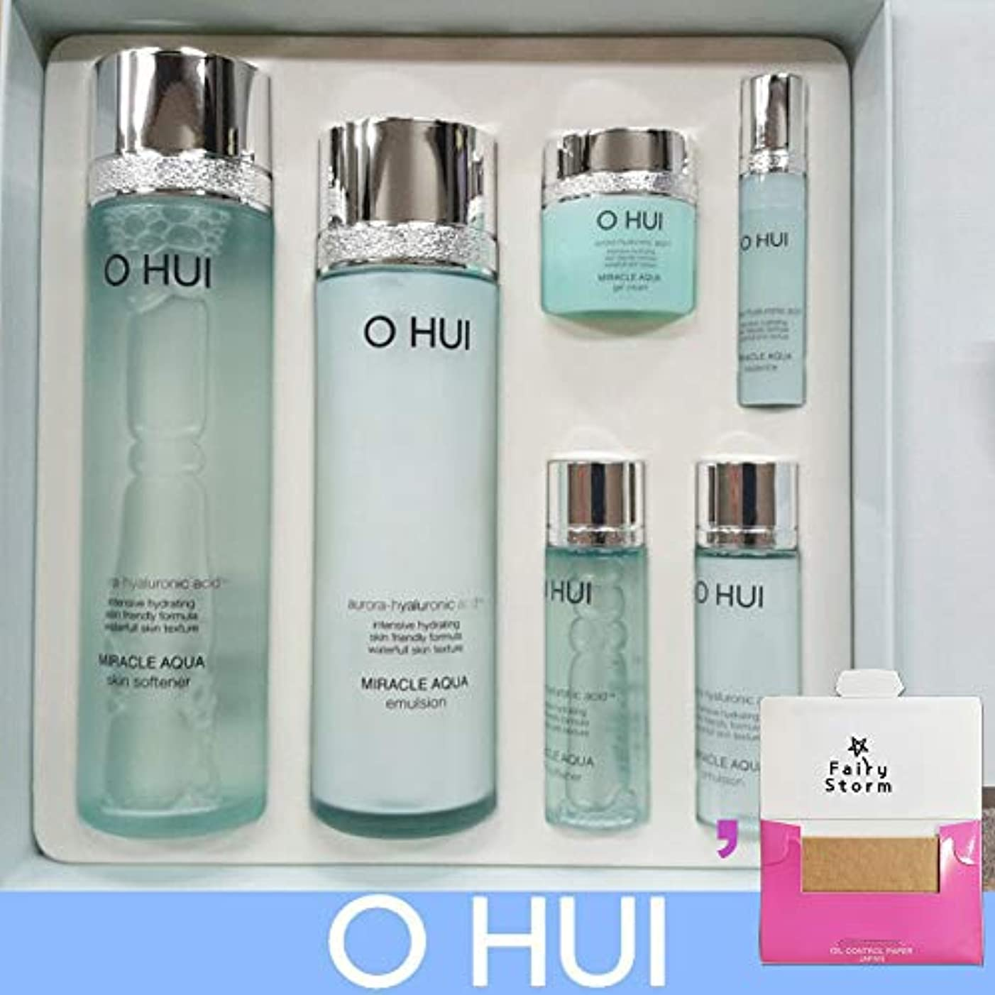 コントラスト裕福なピンポイント[オフィ/O HUI]韓国化粧品LG生活健康/O HUI MIRACLE AQUA SPECIAL SET/ミラクルアクア2種セット+[Sample Gift](海外直送品)