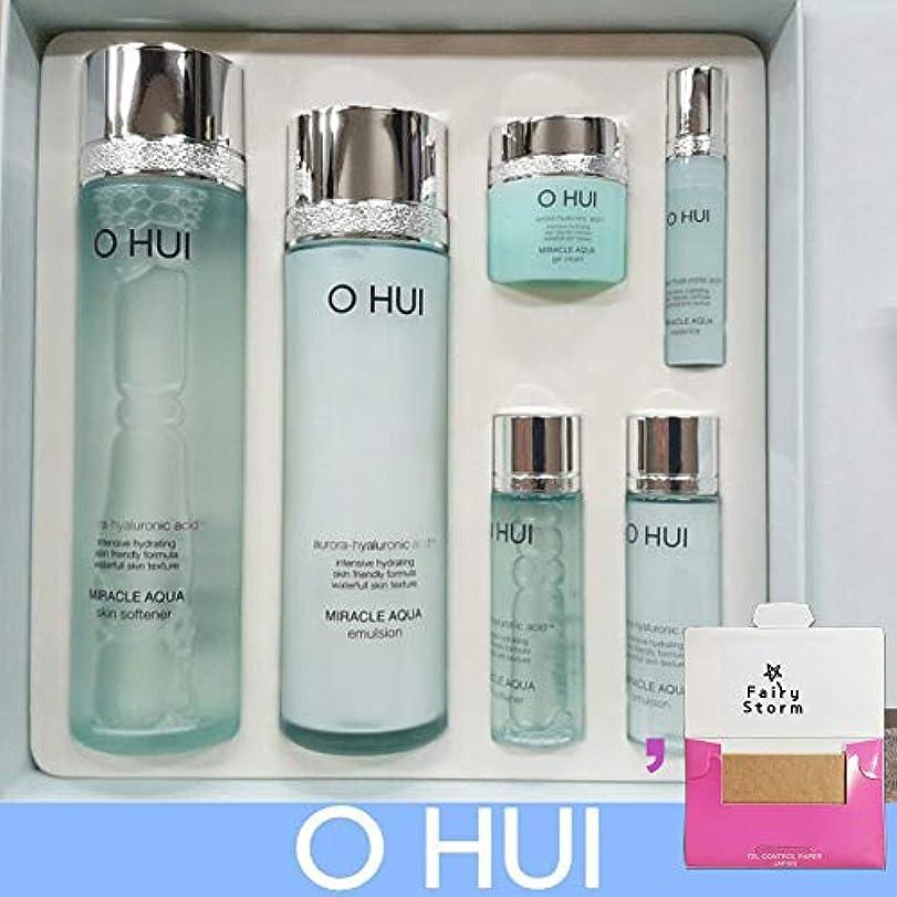 びっくりした効能ある集団的[オフィ/O HUI]韓国化粧品LG生活健康/O HUI MIRACLE AQUA SPECIAL SET/ミラクルアクア2種セット+[Sample Gift](海外直送品)