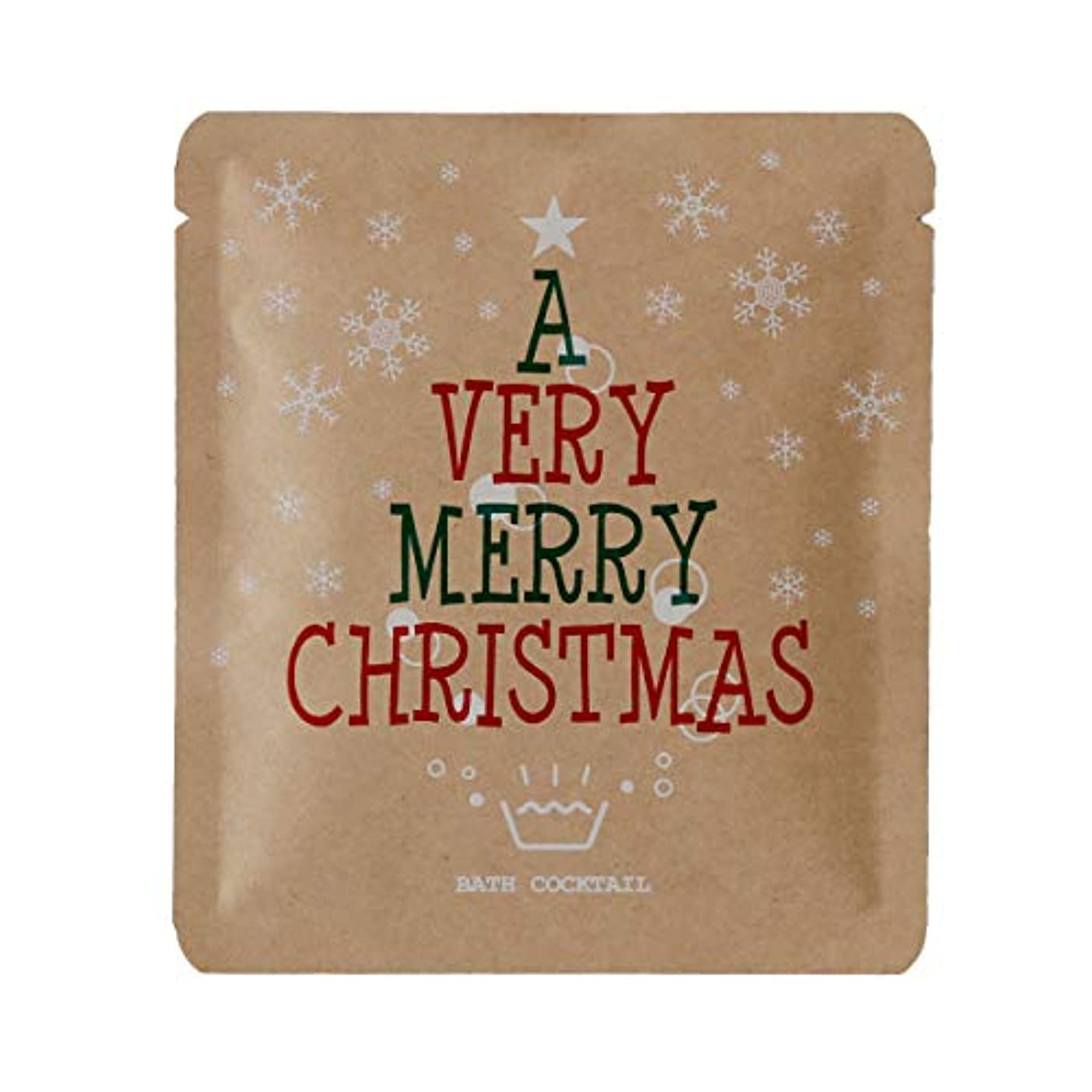 独立した便宜人柄入浴剤 プチギフト「バスリエ/バスカクテル(水素入浴剤/40g)」furo youシリーズ(クリスマス)