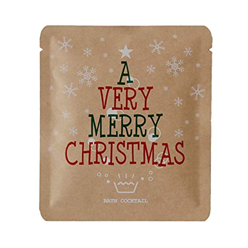 老朽化したメディック水銀の入浴剤 プチギフト「バスリエ/バスカクテル(水素入浴剤/40g)」furo youシリーズ(クリスマス)