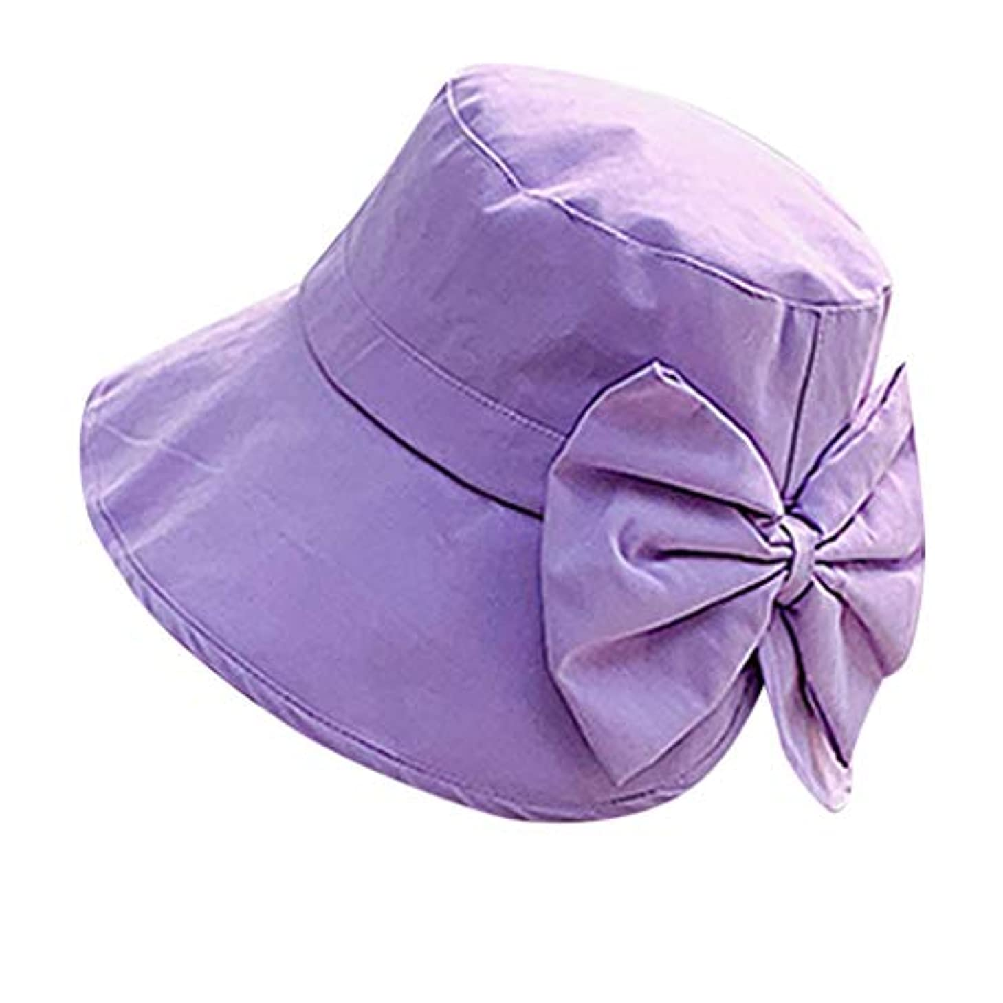 臭い厚さ率直な女性 帽子 レディース UVカット ハット女の子 つば広い 漁師帽 女優帽 小顔効果 紫外線 対策 レディース 蝶結び UV 加工 リボン ハット ビーチ 日よけ テント ビーチサンダル ベレー帽 ROSE ROMAN