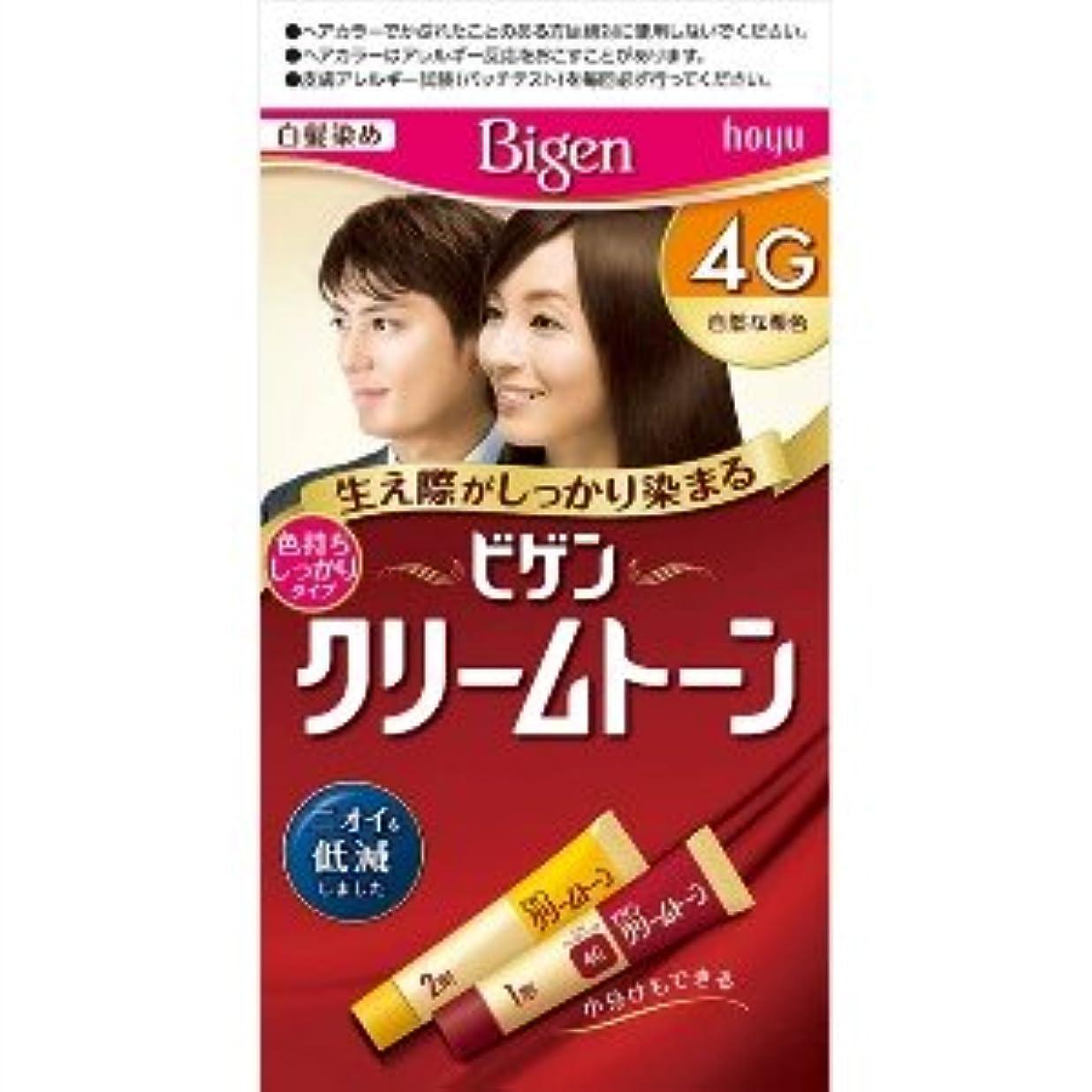 薬を飲む毒液楕円形ビゲン クリームトーン 4G(自然な栗色)×6個