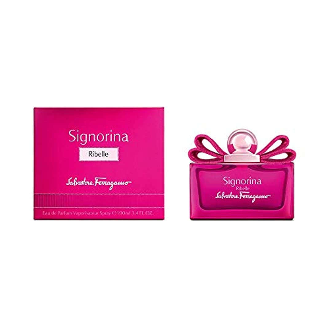 感嘆可愛い苦SALVATORE FERRAGAMO Signorina Ribelle EDP SP 100ml