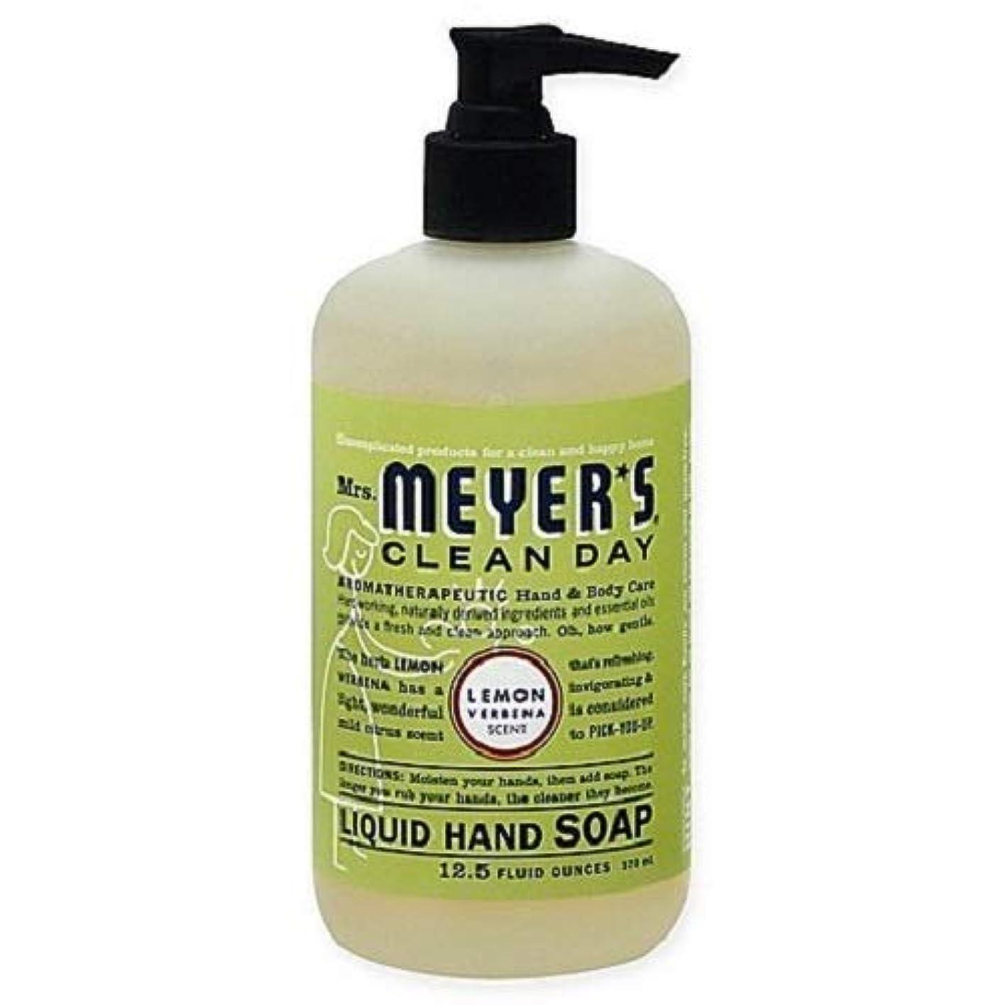 媒染剤マーケティングモンゴメリーMrs. Meyers Clean Day ハンドソープ レモン Verbena 12.5液量オンス