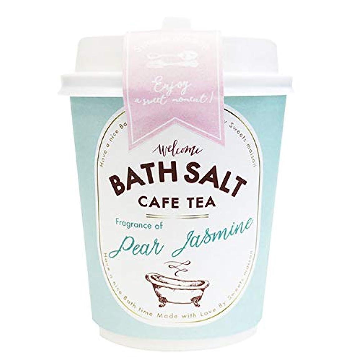十代州民主党ノルコーポレーション バスソルト スウィーツメゾン カフェティーバスソルト OB-SMM-48-2 入浴剤 ペアージャスミンの香り 80g