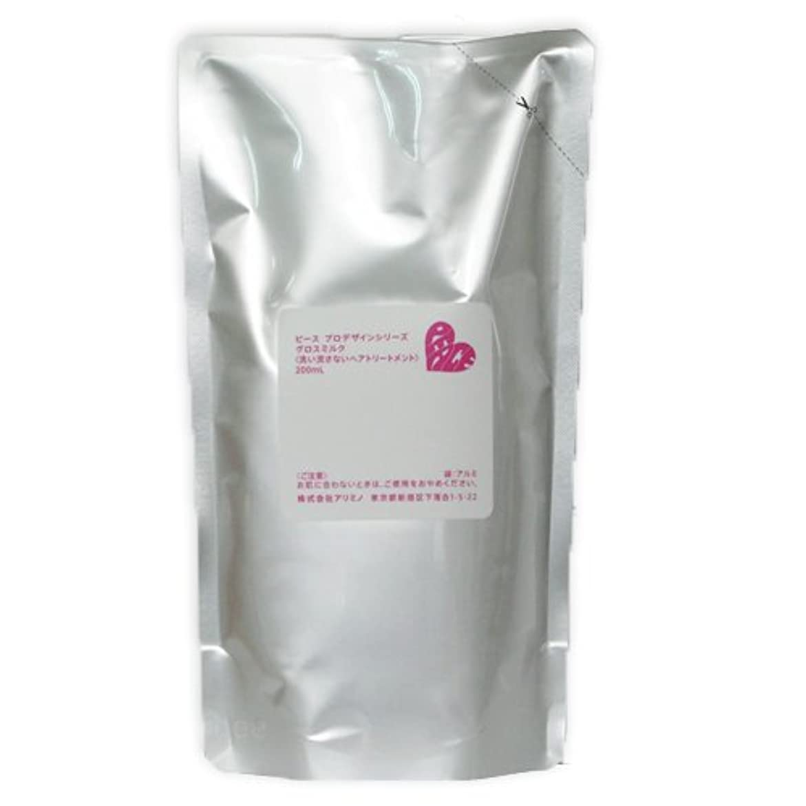 可塑性鋭くぺディカブアリミノ ピース グロスミルク ホワイト 200mL 詰め替え リフィル