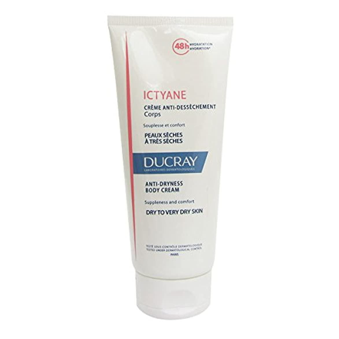 かかわらず考古学汗Ducray Ictyane Moisturizing Emollient Cream 200ml [並行輸入品]