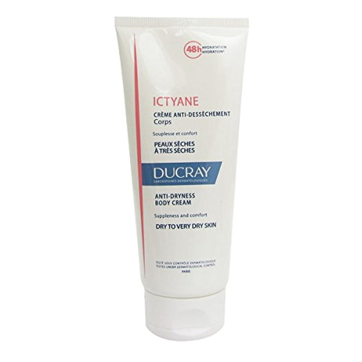 高価なプロット蚊Ducray Ictyane Moisturizing Emollient Cream 200ml [並行輸入品]