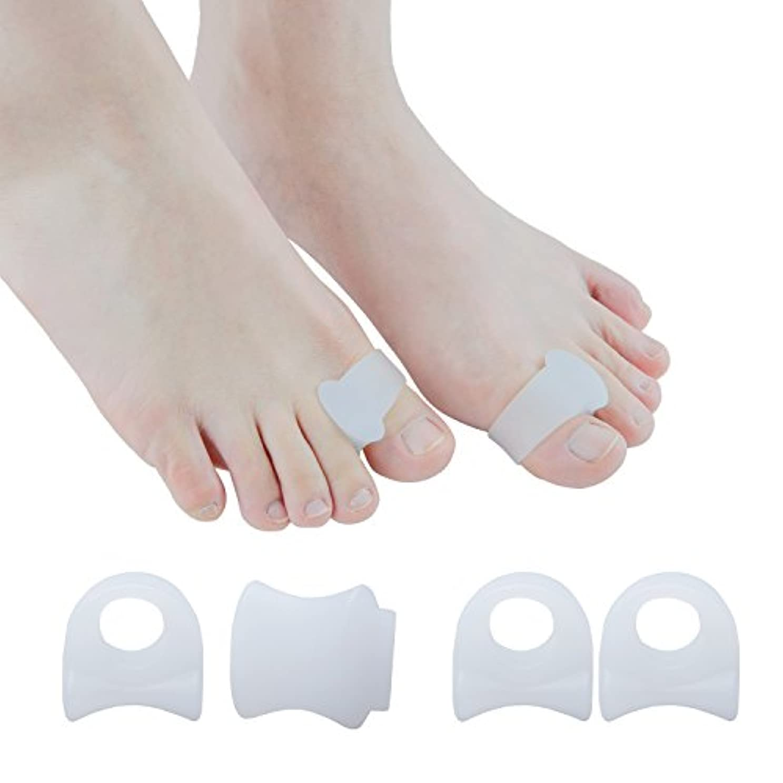 寄り添うくしゃみ送ったSumifun外反母趾対策 指間ジェルパッドジーバニオンシールドプロテクタースプレッダーコレクターアジャスター足の痛み緩和