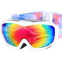 ICEPARDAL(アイスパーダル) スノーボード ゴーグル 日本企画品 曇り止め ダブルレンズ 簡単脱着 UVカット99.9% Revo ミラーレンズ レディース 全12色 IBP-782