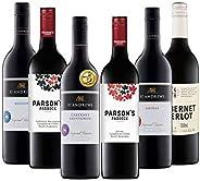 ダブル金賞受賞ワイン入り! オーストラリアの旨辛口の赤ワインだけを集めた充実6本セット(赤750mlx6) [オーストラリア/Amazon.co.jp限定/winery direct]
