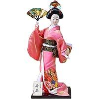 和風の美しい着物芸者/舞妓人形/ギフト/ジュエリー-A21