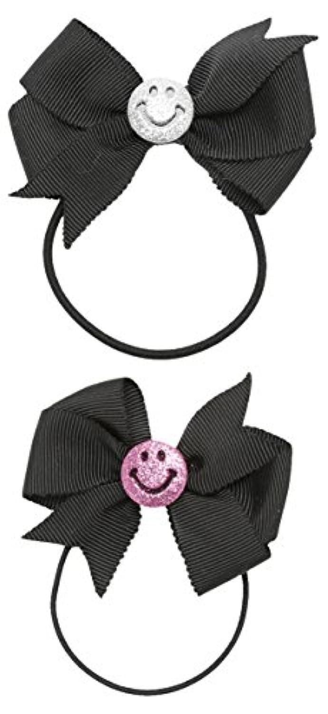 Angel Smile(エンジェルスマイル) 黒 スマイリー&スマイリーゴム ママ&キッズセット HBMKE2014008