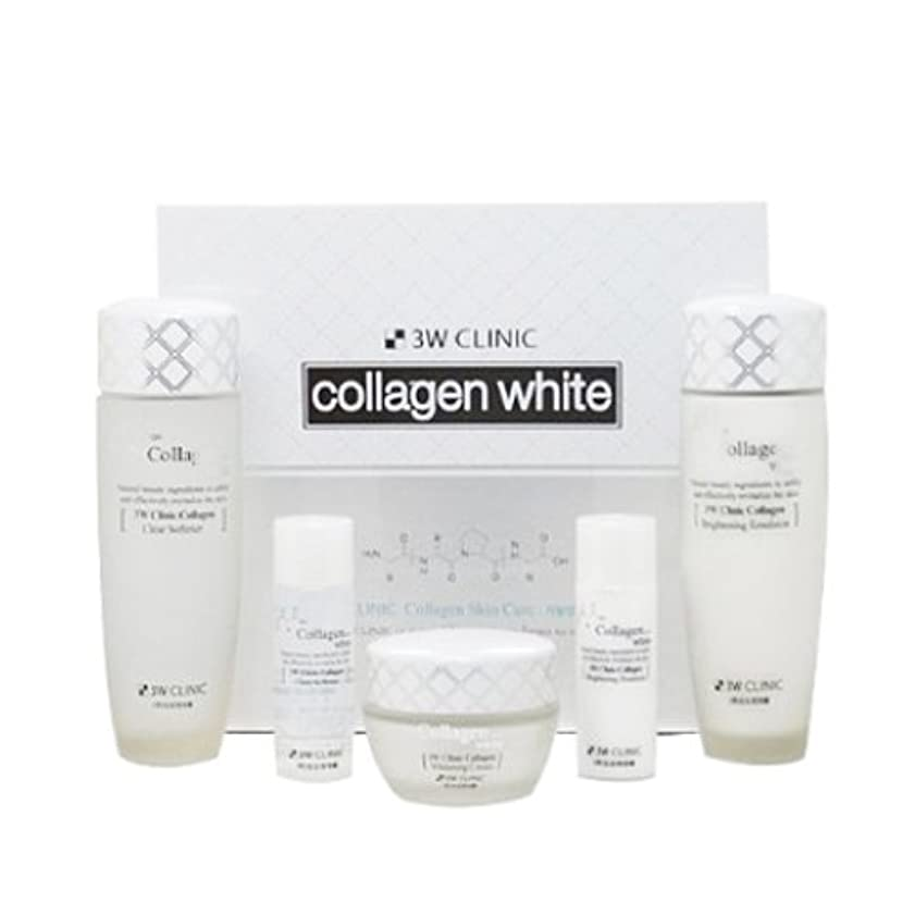 管理します緩める軍団3Wクリニック[韓国コスメ3w Clinic]Collagen White Skin Care コラーゲンホワイトスキンケア3セット樹液,乳液,クリーム [並行輸入品]