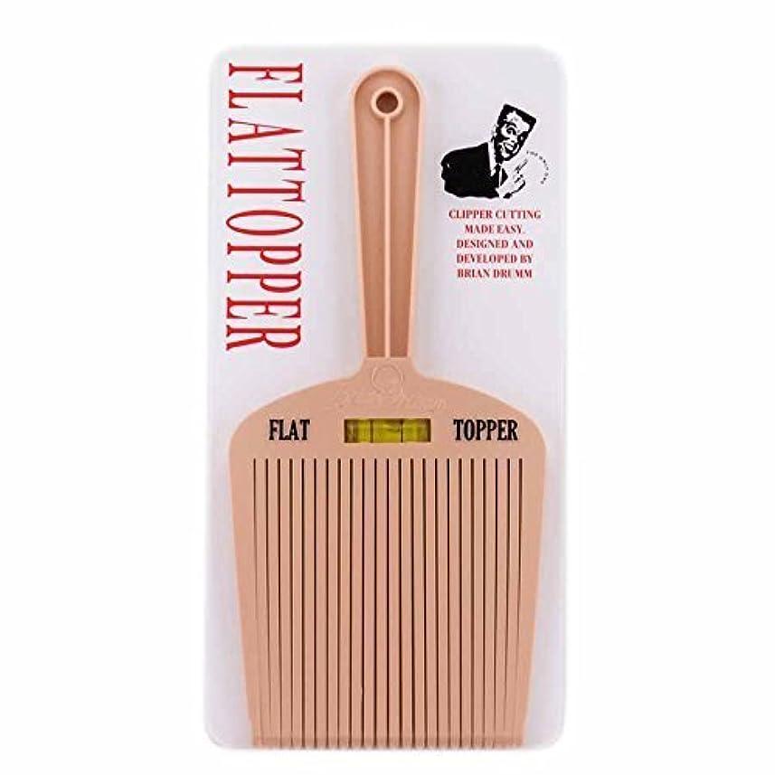 珍しい裂け目ボンドBrian Drumm Flattopper I Machine Comb, White [並行輸入品]