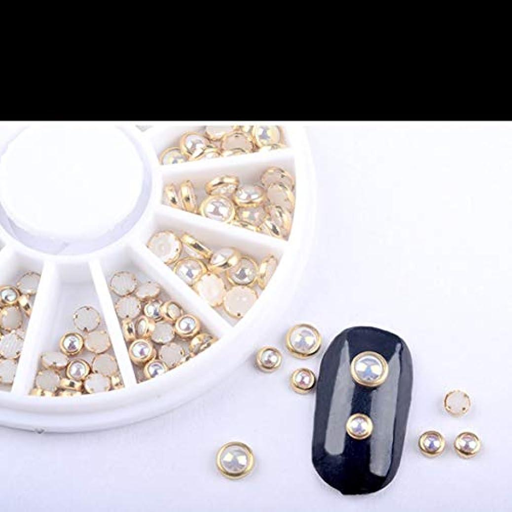 ゴールマークされた人種Bibipangstore sp0036マニキュアドリルターンテーブルネイルツール実装飾り装飾
