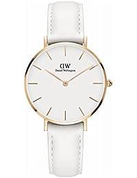 ダニエル ウェリントン クラシック ペティート ボンダイ ホワイト レディース 32mm 腕時計 DW00100189 [並行輸入品]