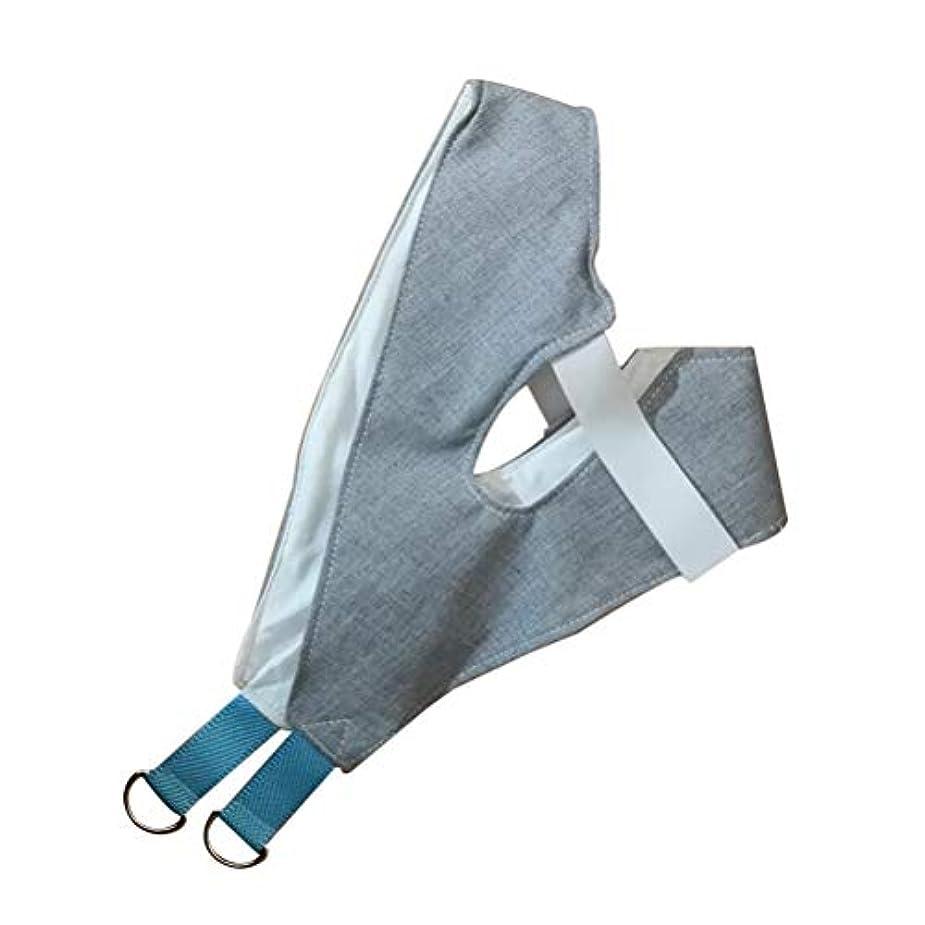 夫婦絶望的なビジュアルHEALLILY ホームネック牽引装置(ドアの向こう側)頸部牽引装置ユニット肩括弧頭痛緩和および回復用具(ラムダムカラー)