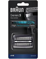 Braun 21B 交換ヘッド Black For Series 3 [並行輸入品]