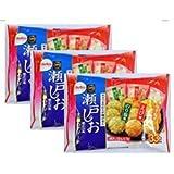 【3パック】栗山米菓 瀬戸の汐揚アソート 33枚x3パック