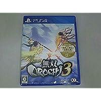 PS4 無双OROCHI 3 初回封入特典 ダウンロードシリアル付