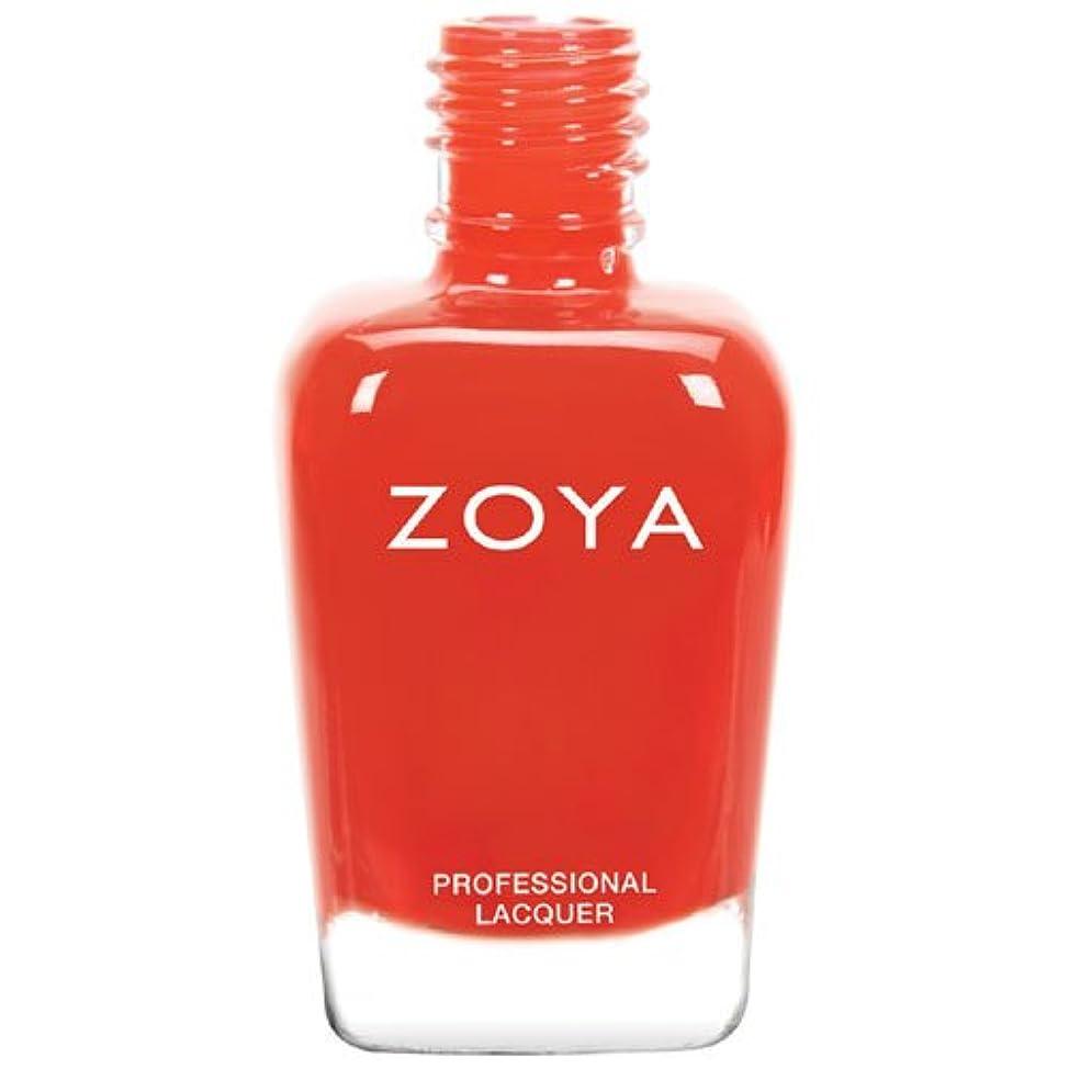 ZOYA ゾーヤ ネイルカラー ZP735 Rocha ローシャ 15ml  Tickled&Bubbly 2014 Summer Collection オレンジレッド マット 爪にやさしいネイルラッカーマニキュア