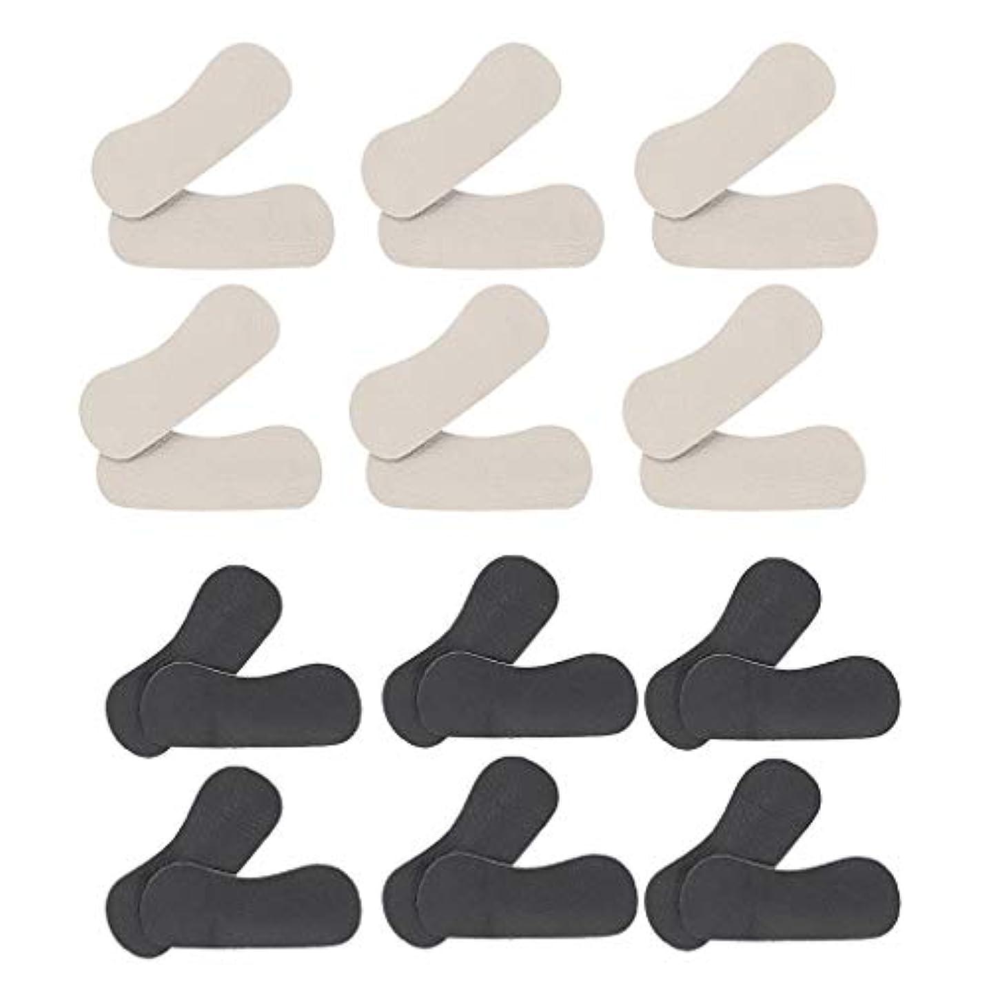 画面ステレオタイプに向かってdailymall 靴擦れ防止 かかと パッドクッション かかとパッド フットケア プロテクター 滑り止め