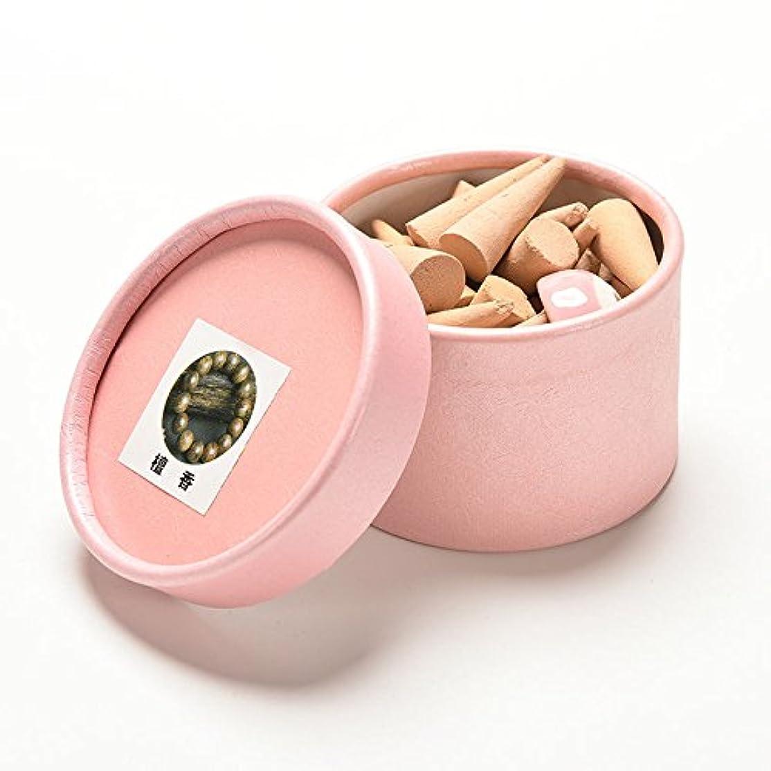 SQingYu アロマテラピーフローラルインセンスコーン フレグランス ローズチューリップ 香り タワー香り アロマセラピーの香り 40個 ベージュ