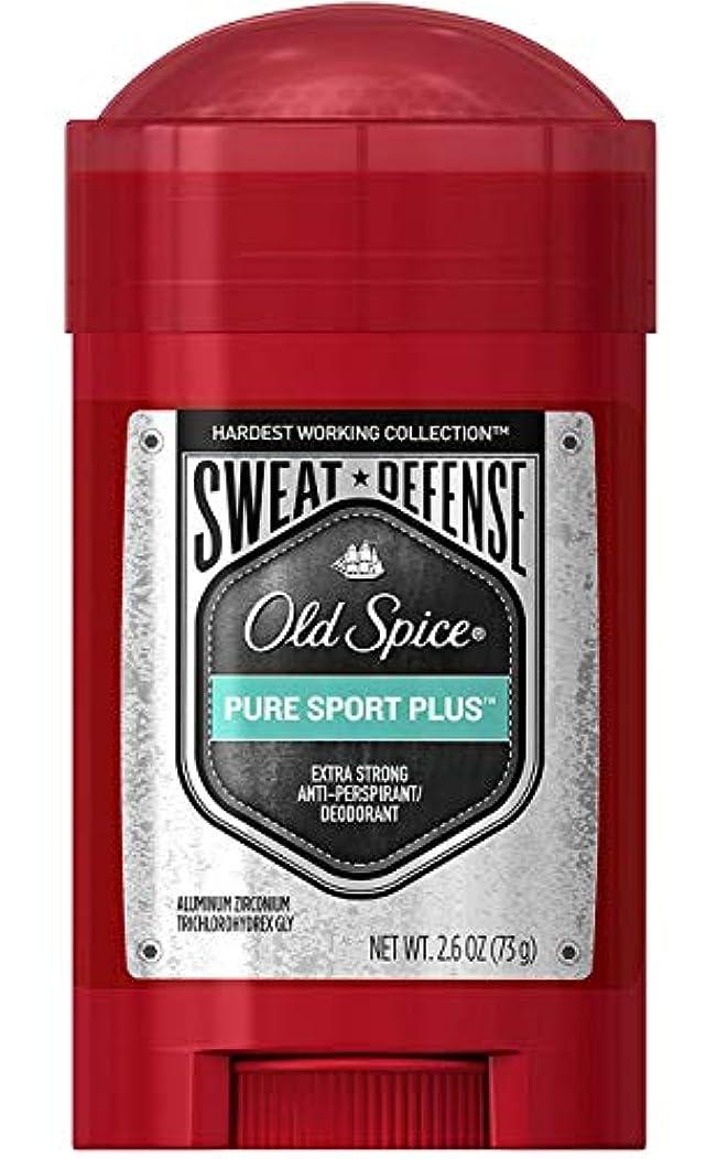 送る流行している腕オールドスパイス Old Spice メンズ デオドラント ピュアスポーツプラス スウィートスウィートディフェンス 男性用 固形 制汗剤 73g