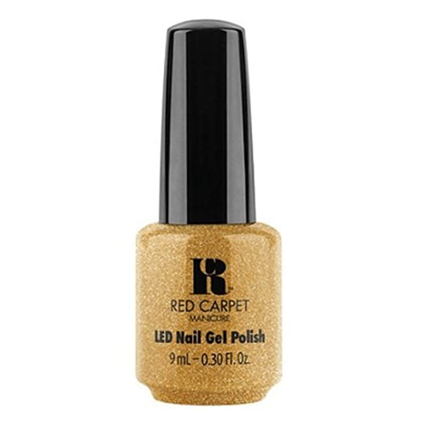 学生機構ストローRed Carpet Manicure - LED Nail Gel Polish - Glam & Gorge - 0.3oz / 9ml