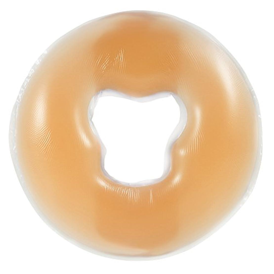 4色シリコンピローマッサージ美容スキンケアソフトオーバーレイフェイスリラックスクレードルクッションパッド(肤色)