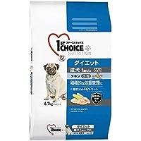 ファーストチョイス ドッグフード 成犬 1歳以上 ダイエット 去勢・避妊した愛犬 小粒 チキン 6.7kg