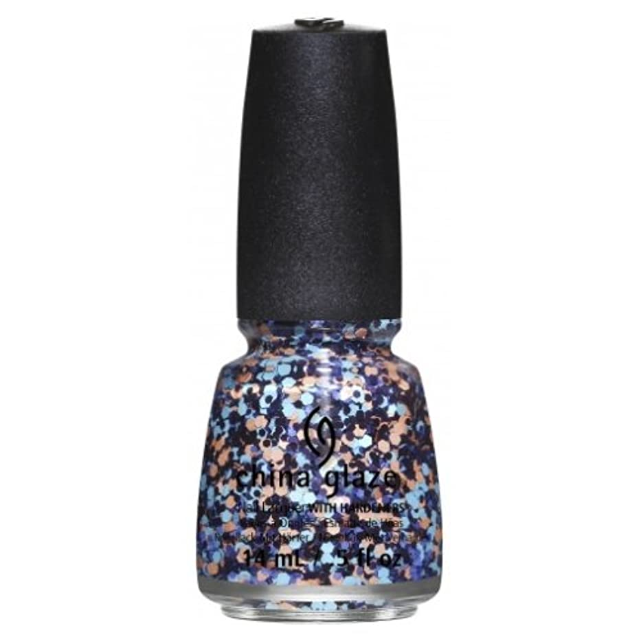 平野スリップ対象(6 Pack) CHINA GLAZE Nail Lacquer - Suprise Collection - Glitter Up (並行輸入品)