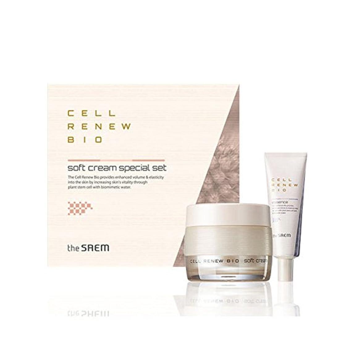二年生近々藤色[ザセム] The Saem セルリニュー バイオ クリーム スペシャルセット Cell Renew Bio Cream Special Set (海外直送品) [並行輸入品]