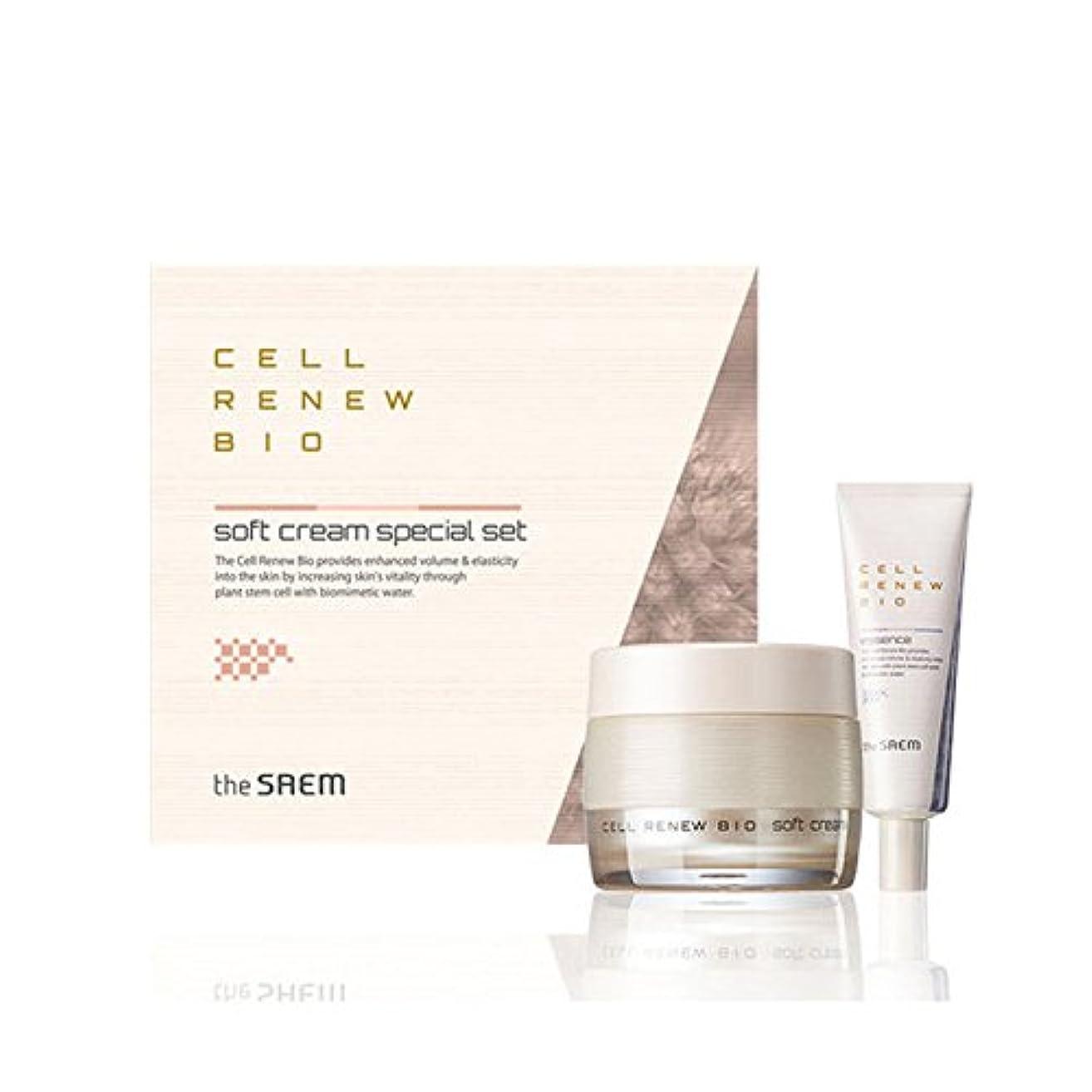 夏快適どう?[ザセム] The Saem セルリニュー バイオ クリーム スペシャルセット Cell Renew Bio Cream Special Set (海外直送品) [並行輸入品]