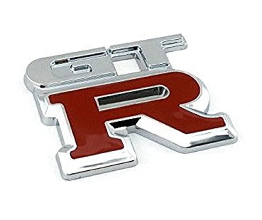 教える社会主義者準拠kimurea select (キムレアセレクト) 汎用 ステッカー GT-R GTR 4WD 3D マーク 立体 エンブレム
