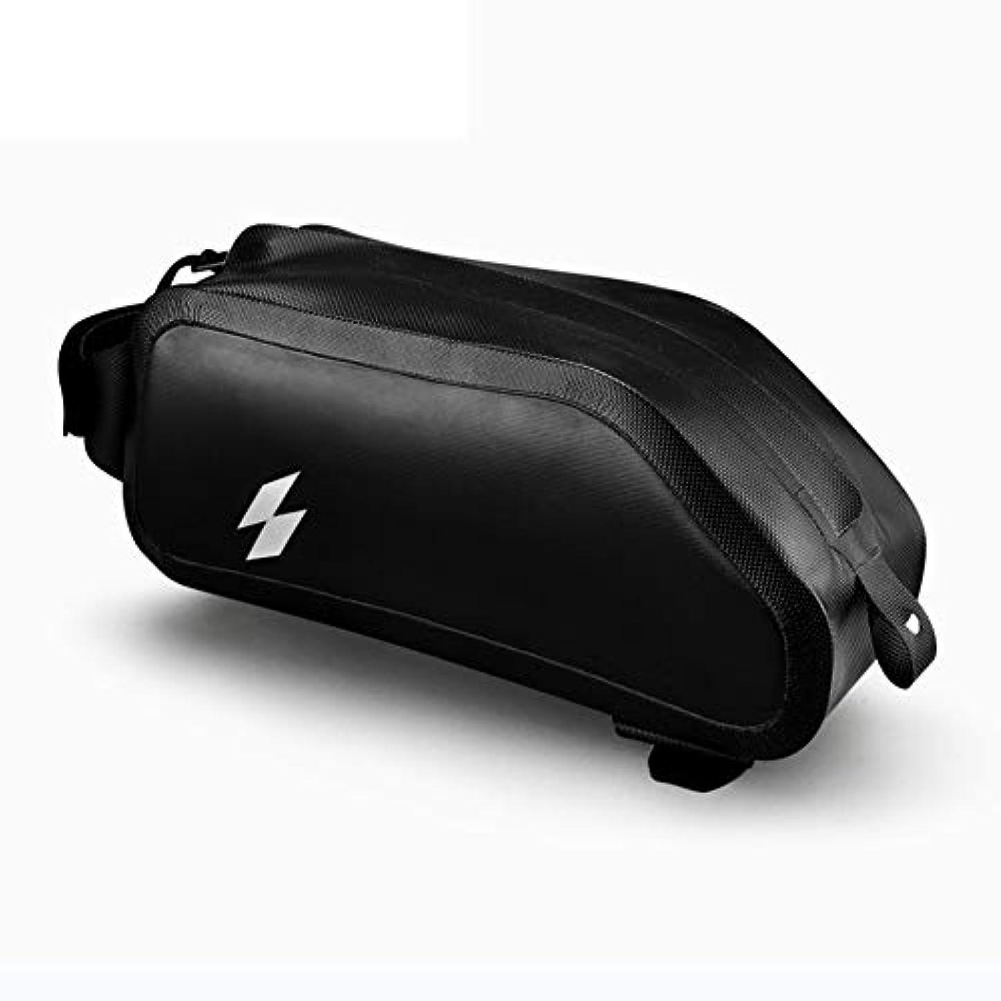原理ランチオーバーフロー自転車バッグ、アッパーチューブパッケージ用防水マルチモデル、低風力抵抗、ノータッチレッグ自転車バッグ