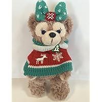 【2011ダッフィーのクリスマス】シェリーメイ?ぬいぐるみバッジ☆(ニット)ジャガード柄コスチューム
