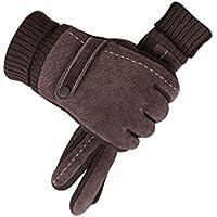 手袋、プラスベルベットの冬の人工豚のアウトドアライディング,A