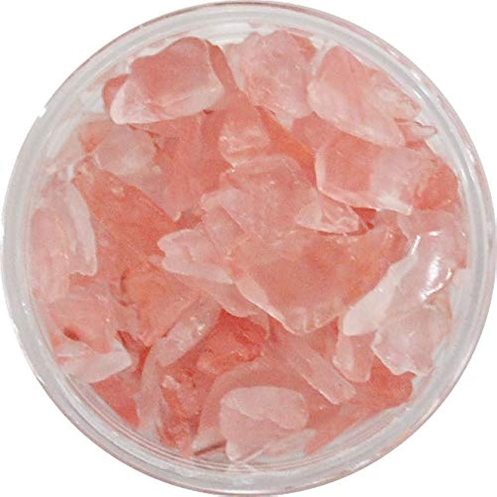 不適繊毛正直天然石のネイルパーツ Natural Stones 丸いプラスチックケース入り (インカローズ風)