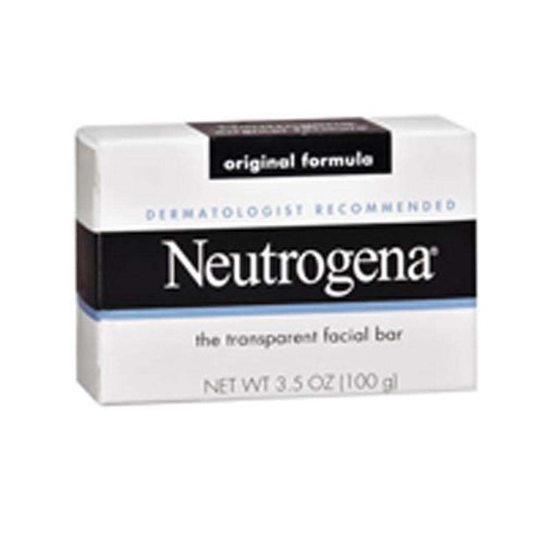 現在ファンタジー周り海外直送肘 Neutrogena Transparent Facial Soap Bar, 3.5 oz