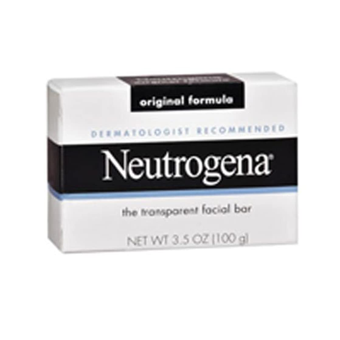 溶融財布顎海外直送肘 Neutrogena Transparent Facial Soap Bar, 3.5 oz