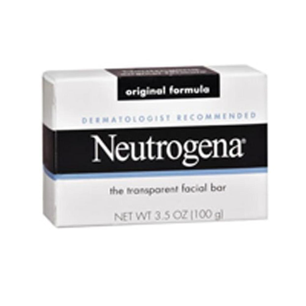 パーチナシティパワーセル誤って海外直送肘 Neutrogena Transparent Facial Soap Bar, 3.5 oz