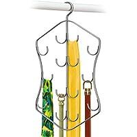 Lynk Hanging Accessory Organizer 14フック、プラチナ シルバー 144112